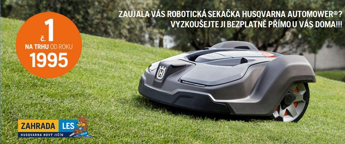 Robotická sekačka Husqvarna Automower