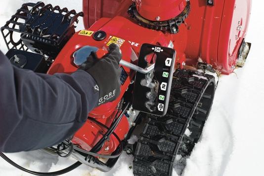 Pásová sněžná fréza Honda HSS 655 HT-2