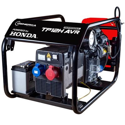 Rámová profesionální elektrocentrála TP 12 H AVR s podvozkem