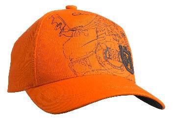 Kšiltovka-Pioneer-oranžová