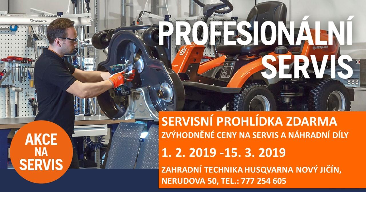 Profesionální servis